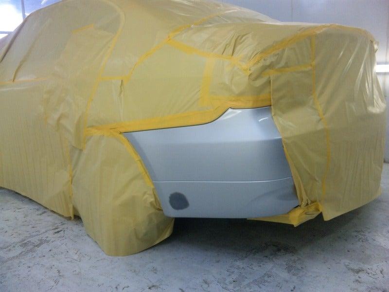 京都の女職人が書く車のブログ☆★-BMW 塗装