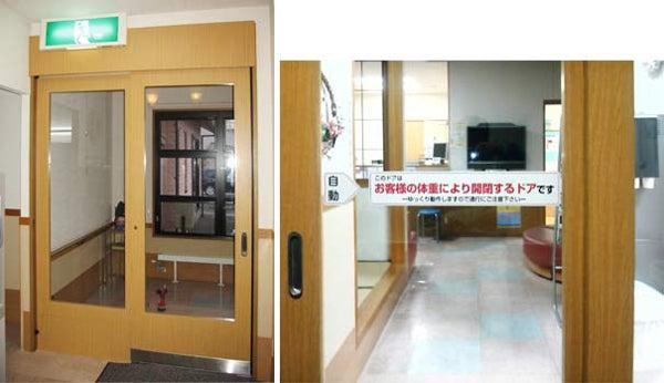 新宿御苑前 403新宿ギャラリースタッフ日記-電気の要らない自動ドア。クリニック
