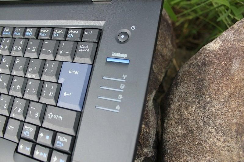 NEC特選街情報 NX-Station Blog-ThinkPad L520 電源とインジケータ
