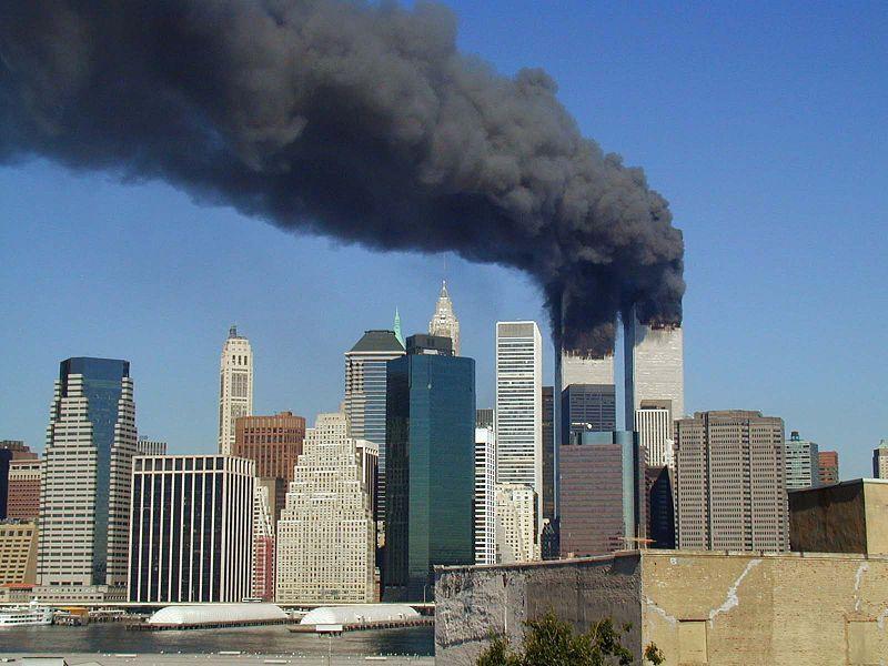 アメリカ同時多発テロ事件の写真