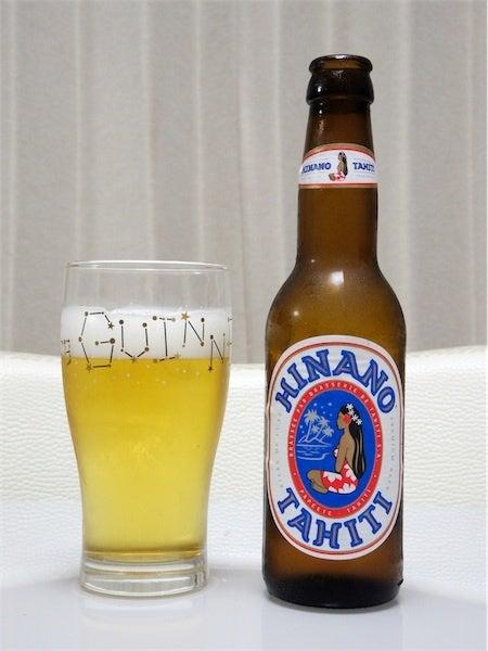$cheltenhamのブログ-Tahiti Hinano Beer(タヒチ/ヒナノビール)