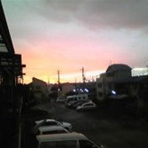 夕陽(都会のやすらぎ…