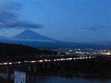 バンノダンススタジオのブログ-富士山_夜