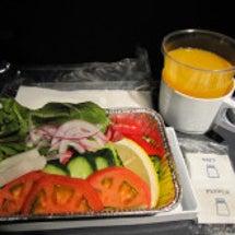 機内食もローフード2