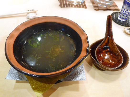 出汁スープ
