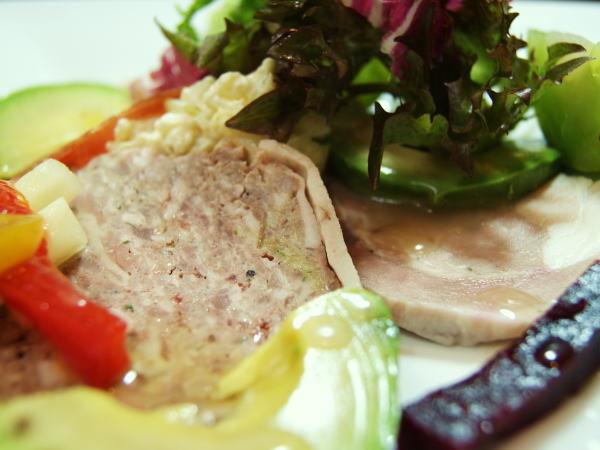 食べて飲んで観て読んだコト+レストラン・カザマ-シャルキュトリー