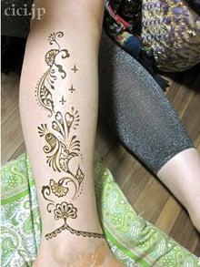 インド雑貨専門店主ブログ-ヘナタトゥー・メヘンディ