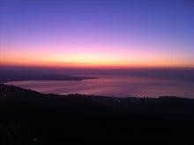 PALM SOUND 2011のブログ-朝陽。十文字原から