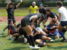 SUNDAI RUGBY MANAGER BLOG-練習