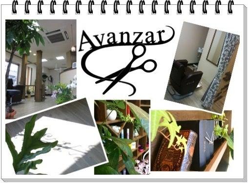 $Avanzar hair の前進日記