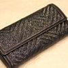 籐マルチ財布の画像