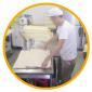 $金沢のおいしいパン【Su Franche】スーフランシュ-朝早くから作っています。