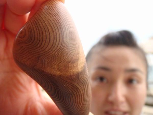 木の魂ー屋久島から大自然の叡智をー-屋久杉玉磨き