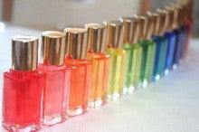 虹の七色で、心もからだも美しく ~あなたの中のダイヤの原石は色で輝きます~ -TCカラーボトル