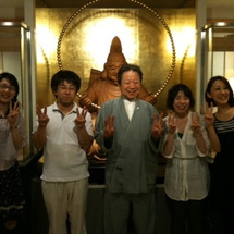 竹田和平さんにお会い…