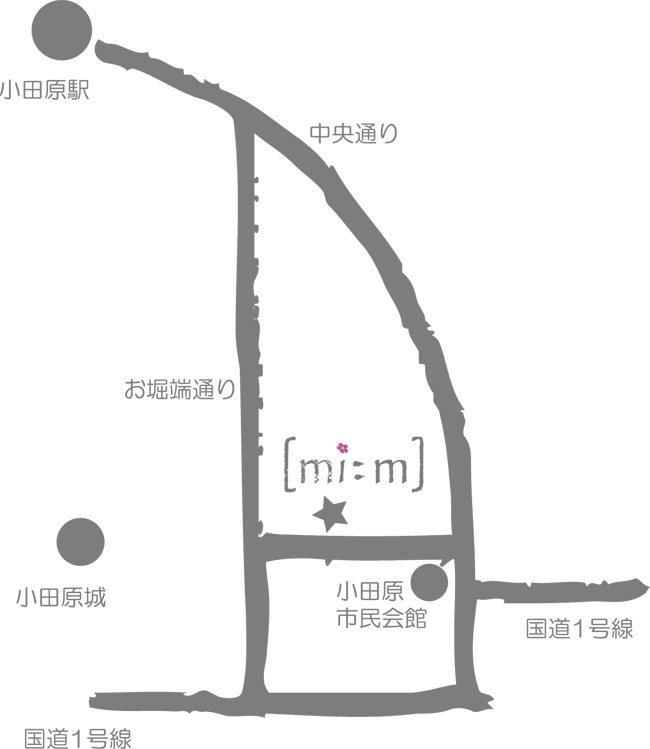 ミーム 小田原 マップ