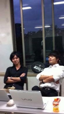 長谷川淳一研究会のブログ-こやつらは不真面目(左はオレ笑)