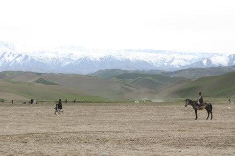 アフガニスタン便り-ブスカシ広場