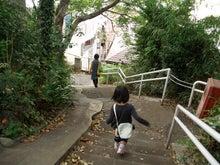 迷路の奥の階段