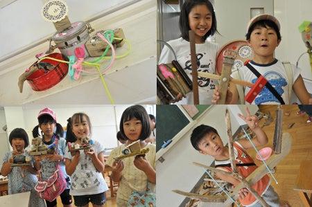 ワタノハスマイル・石巻市立渡波小学校の子ども達の笑顔-2011-10-6_07