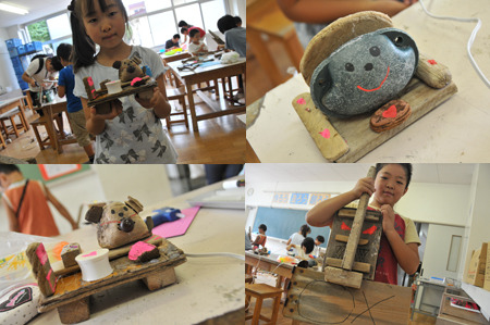 ワタノハスマイル・石巻市立渡波小学校の子ども達の笑顔-2011-10-6_06