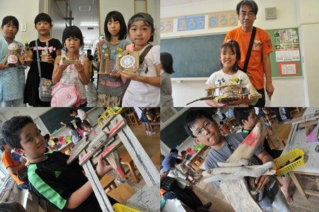 ワタノハスマイル・石巻市立渡波小学校の子ども達の笑顔-2011-10-6_05