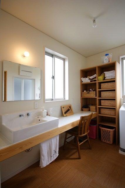 徳島県で家を建てるならサーロジック-洗面所