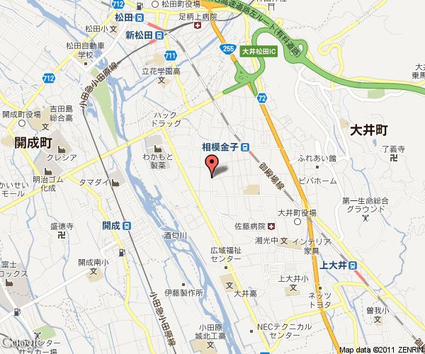 【肩こり・腰痛から体質改善まで】 鍼灸・アロマで快適生活  ~ 神奈川・大井町から -神奈川 地図1