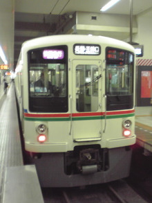 ぽけあに鉄道宣伝部日誌(仮)-rapid exp sb4017F+4023F