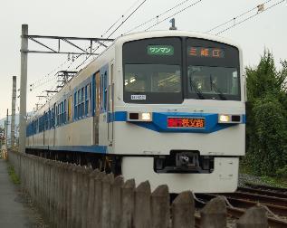 """ぽけあに鉄道宣伝部日誌(仮)-exp""""Chichibuji"""" cb6000"""