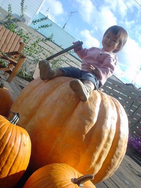 はるころ日記~田舎を駆ける女たち~-ハロウィンかぼちゃ