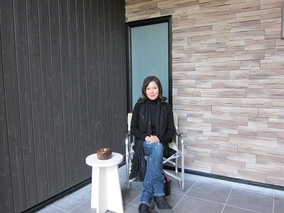 銀座由美ママの心意気-軽井沢加納 玄関 由美ママ