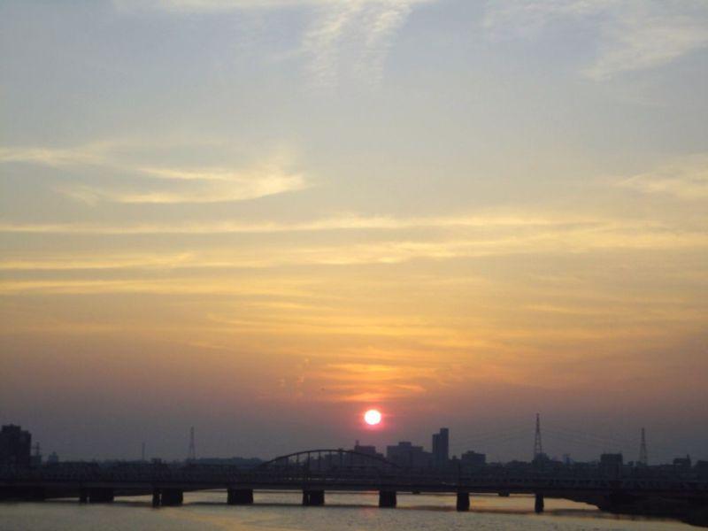 *Yippee!* ~いっぴー的ナニワにっき-夕日2