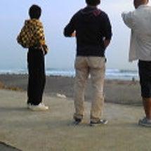 昨日木曜日は鹿島で波…