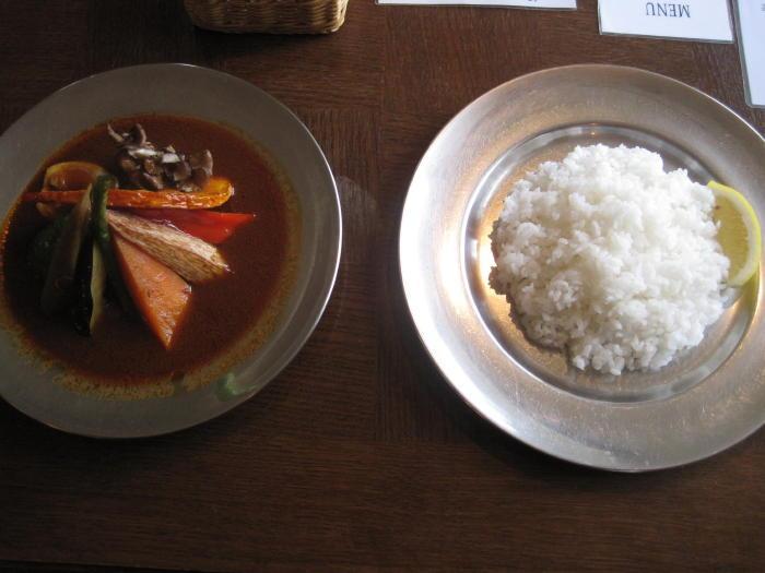 $歩き人ふみの徒歩世界旅行 日本・台湾編-野菜カレー