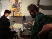 布ナプキンとエコ洗剤の「えころじ庵」-お湯を沸かす
