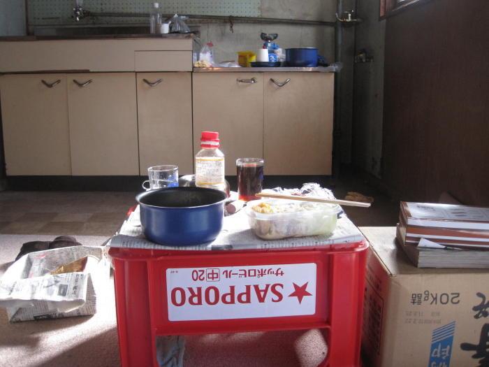 $歩き人ふみの徒歩世界旅行 日本・台湾編-食卓