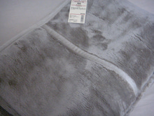無印良品の毛布。