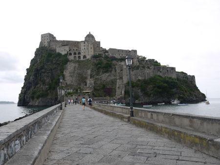 ♡南イタリア♡イスキア島☆アラゴ...