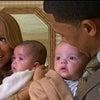 マライア・キャリー&ニック・キャノン 6か月の双子の男女モロッカン&モンローをお披露目の画像