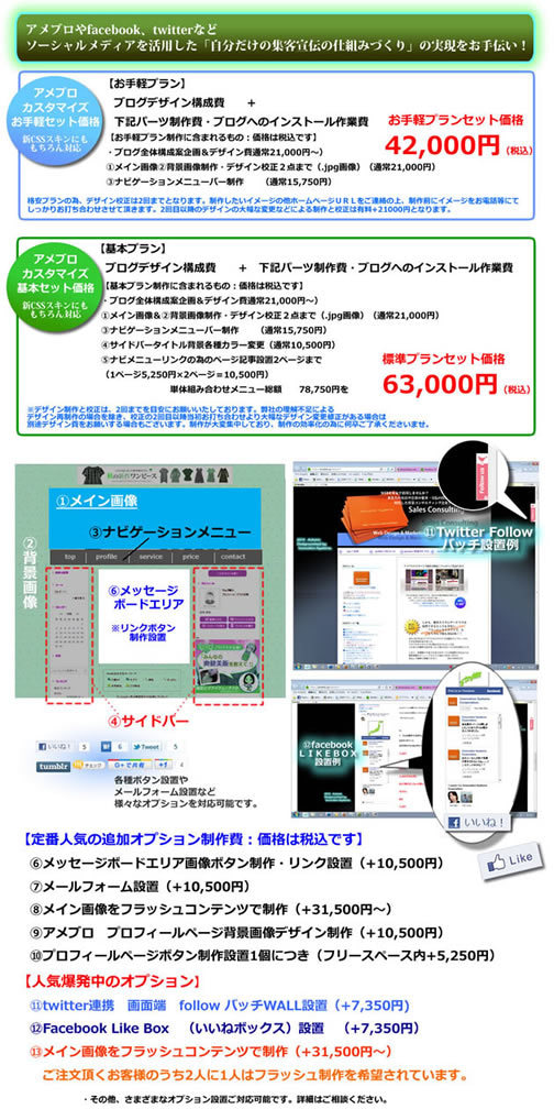 アメブロカスタマイズで名古屋Webコンサル会社が売れる仕組み実現お手伝いブログ~-price
