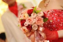 $ブライダル装花専門店AZUR-20110910アルベルゴバンブーラウンドブーケ