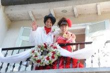 $ブライダル装花専門店AZUR-2011年9月10日アルベルゴバンブー バルコニーにて
