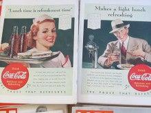 $アメリカン雑貨としてアメリカ雑誌広告を販売する アメリカンアド ドットコムのブログ-1940年 コカコーラ イラスト広告