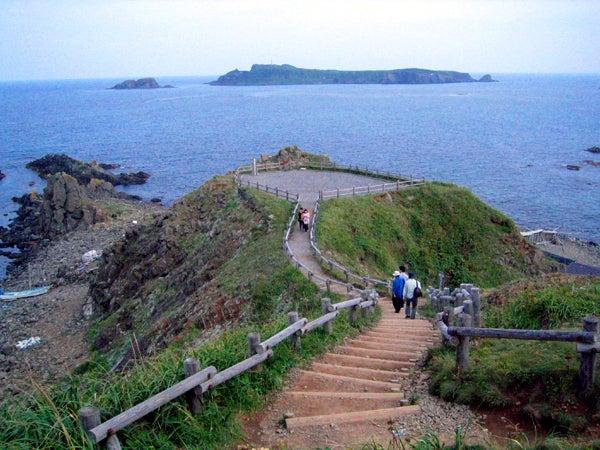 日本最北限・スコトン岬(須古頓...