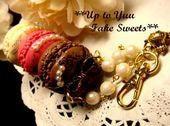 新米作家のフェイクスイーツデコ日記*Up to Yuu Fake Sweets*-三段マカロン