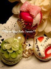 新米作家のフェイクスイーツデコ日記*Up to Yuu Fake Sweets*-指輪チャーム