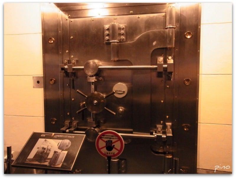 ピノたんのんびり日記-小樽 旧日銀内 金庫
