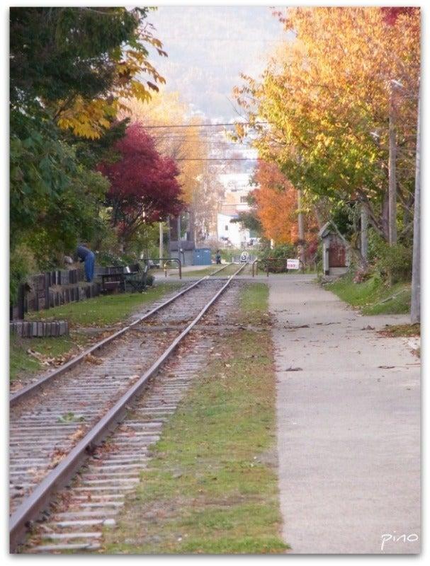 ピノたんのんびり日記-小樽 線路