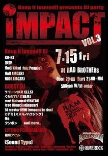 ★札幌発 X-TREME MUSIC& LOUDROCK DJ EVENT 『IMPACT』